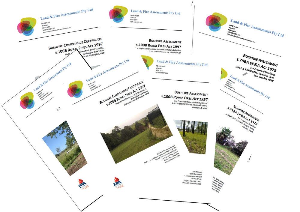 Paoola Rickard has been undertaking bushfire assessments since 2003