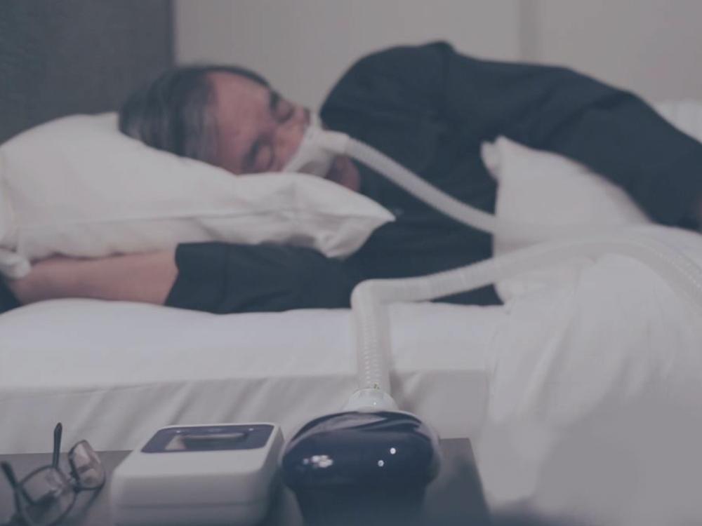 CPAP - เครื่องช่วยหายใจขณะนอนกรน