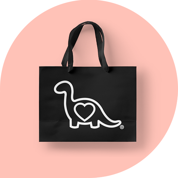 Glamosaurus - The Work: Creative Direction, Graphic Design, Photo + Video, E-Commerce Management, Social Media Marketing. Wholesale + Tradeshows