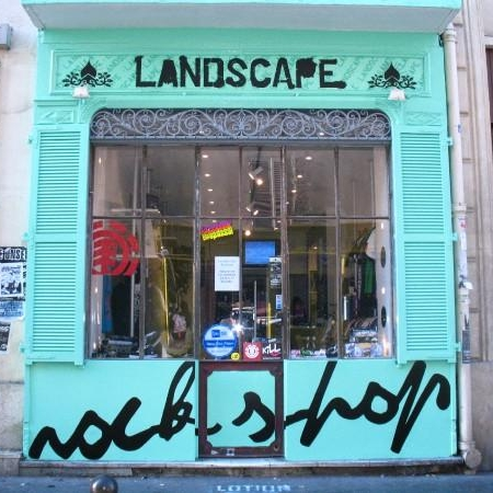 Landcape (Paris, France) First wholesale acct.