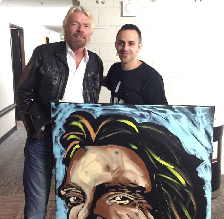 Richard Branson x Matteo Charles