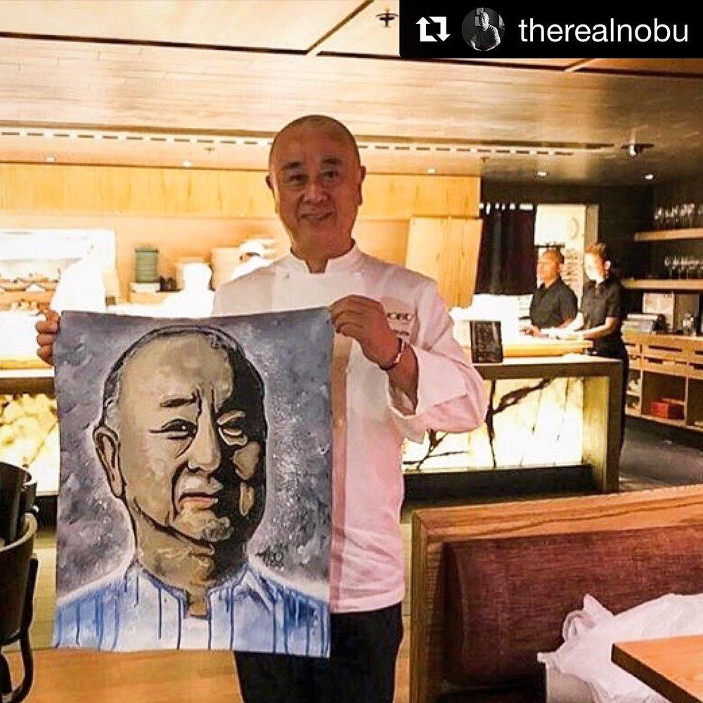 Chef Nobu Matsuhisa x Matteo Charles