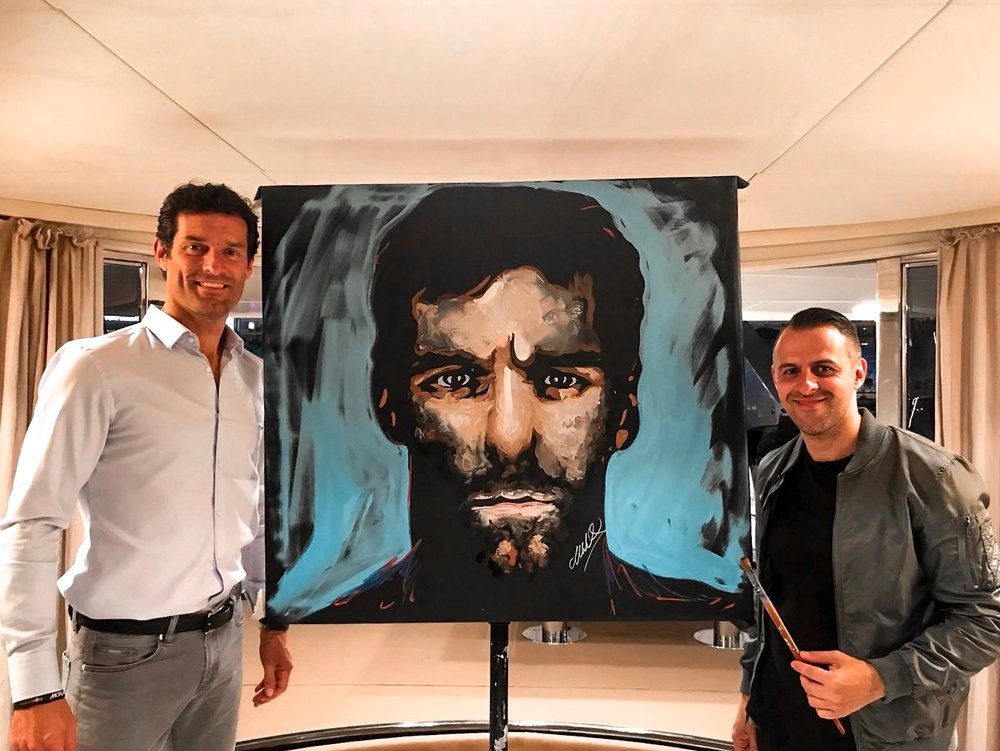 Mark Webber x Matteo Charles