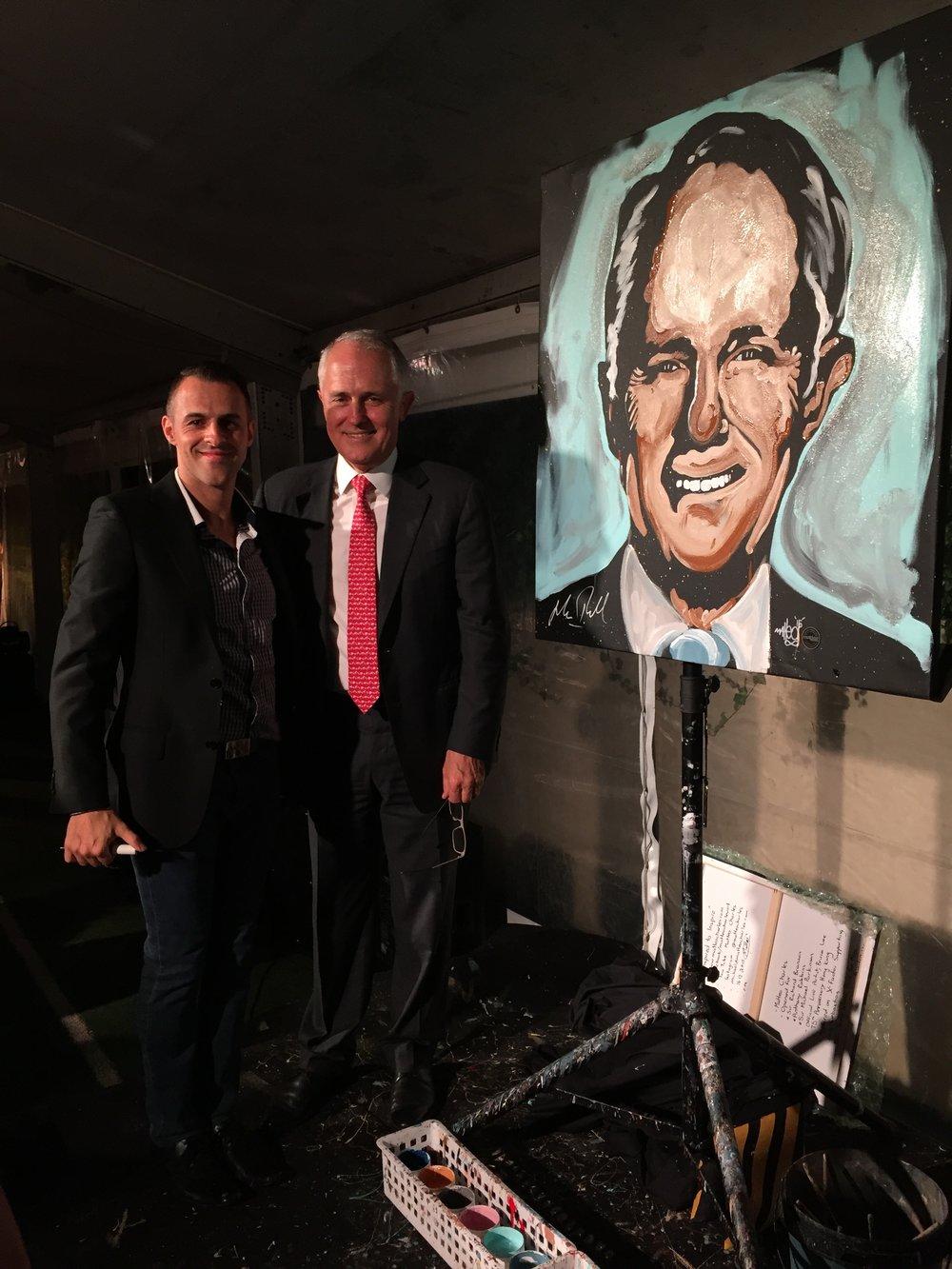 Malcolm Turnbull x Matteo Charles
