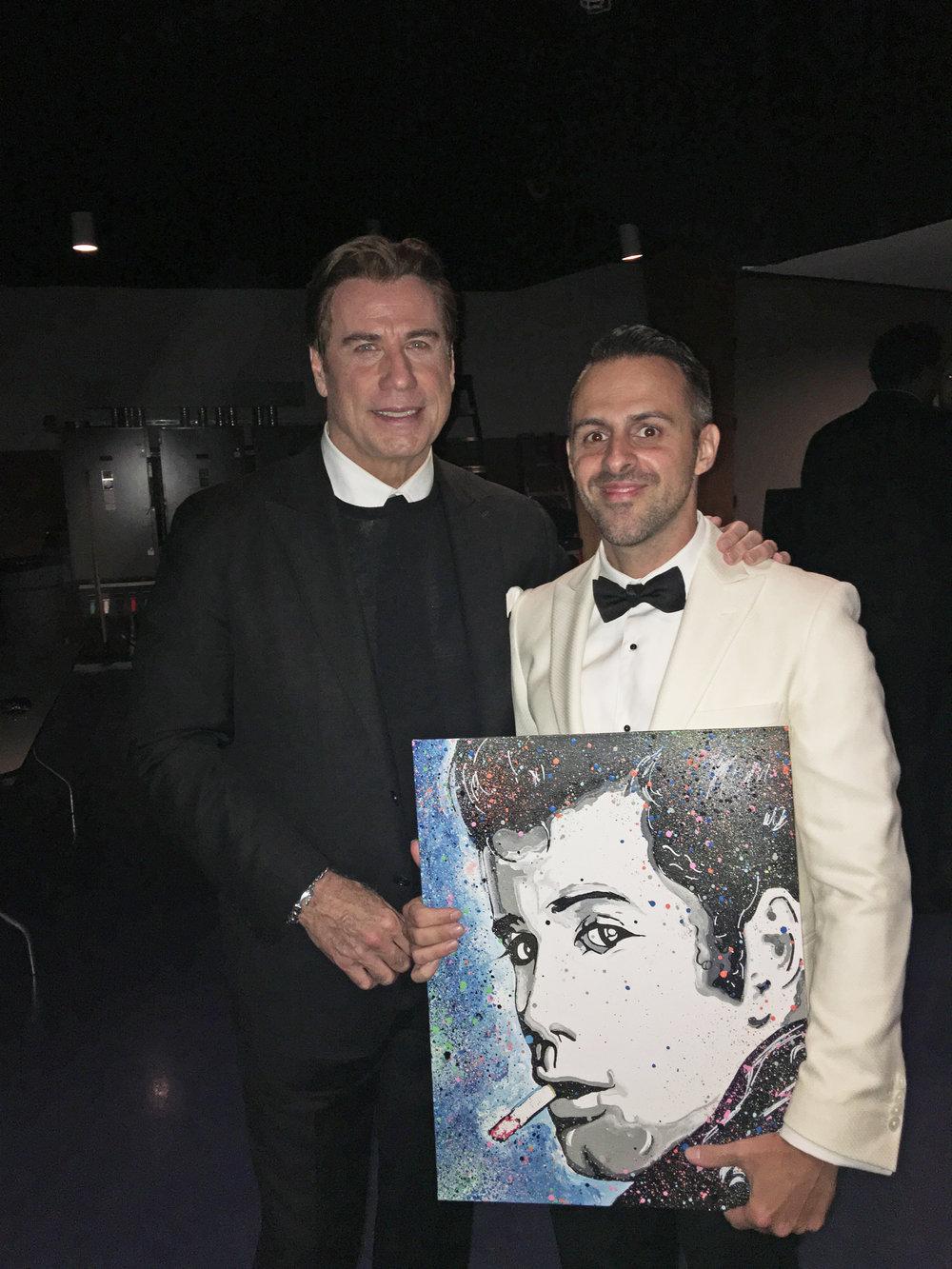 John Travolta x Matteo Charles