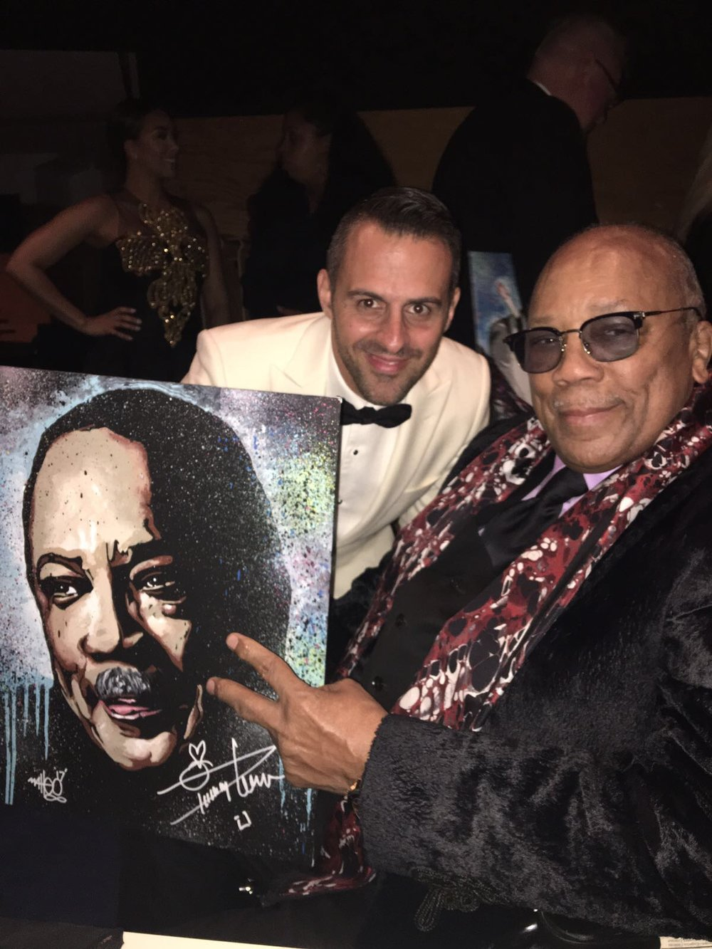 Quincy Jones x Matteo Charles