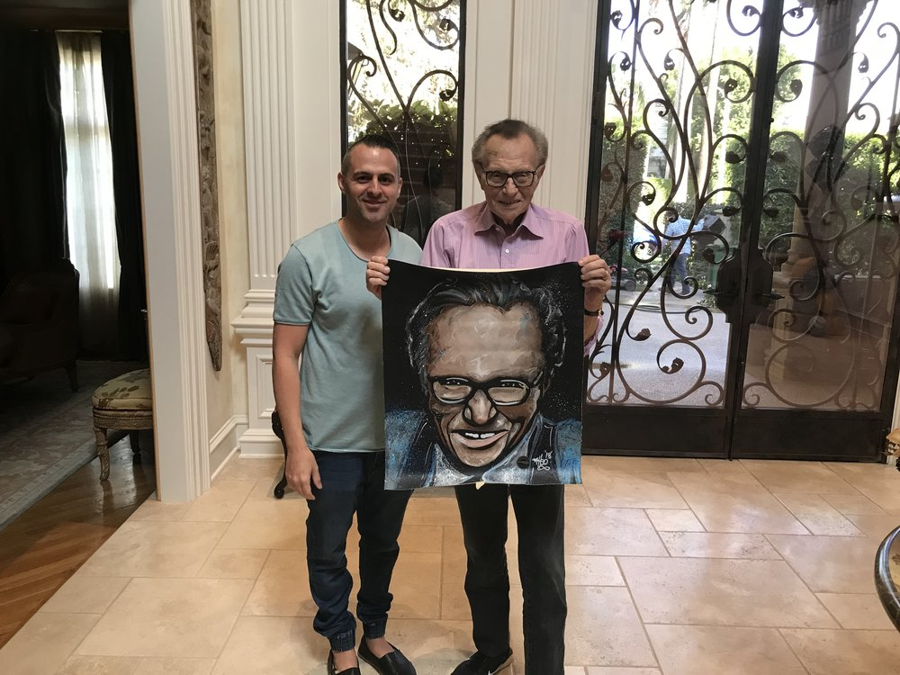Larry King x Matteo Charles