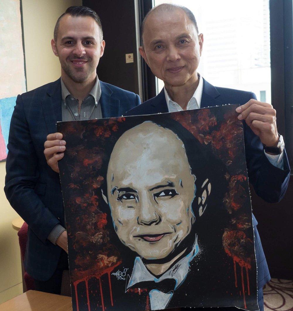 Jimmy Choo x Matteo Charles
