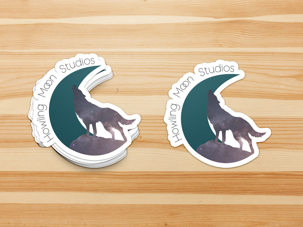 Howling Moon Studios Stickers