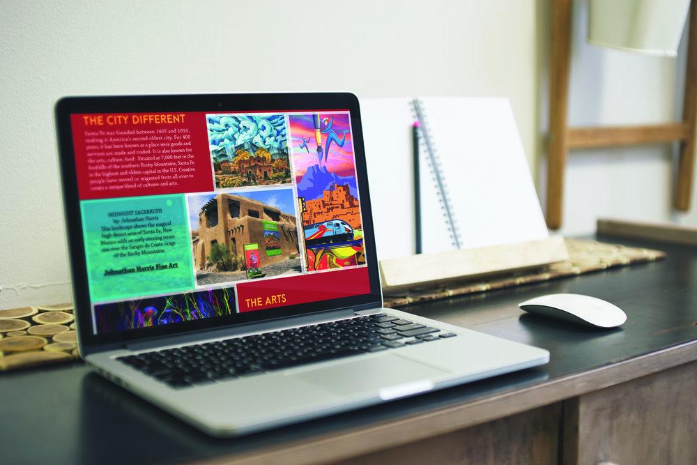 Santa Fe Website cont.