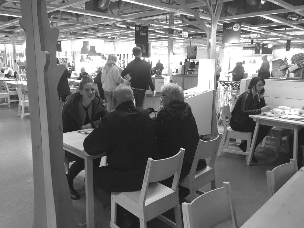 Customer insights over meatballs at Ikea -