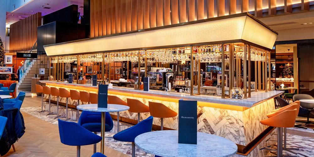 The Grahamston Bar I High stool bar seating area