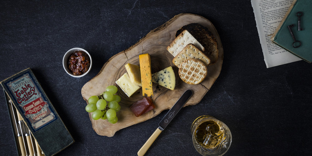 The Grahamston I Hand picked Cheese selection served with artisan bread & crisp bread, celery & quince