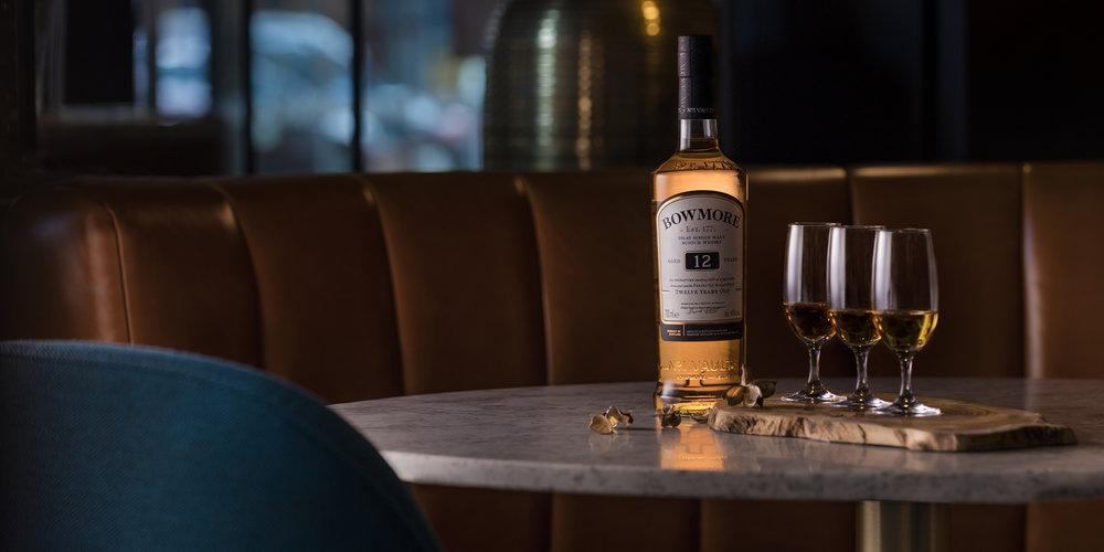 The Grahamston Bar I 1775 Bowmore Single Malt Whisky