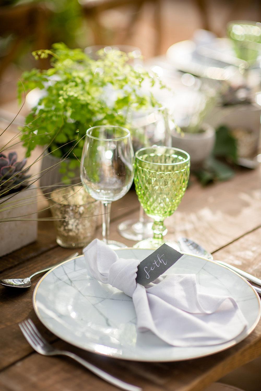 table setting, ibiza events, obi and the island