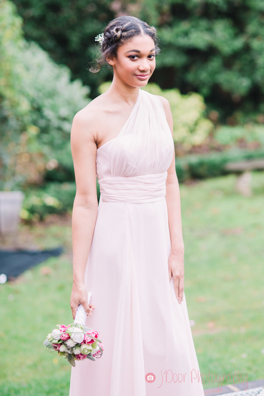 Dress by Matchimony, Model Ellie.