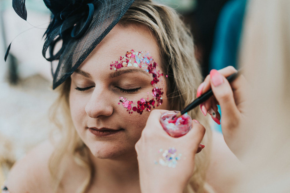 Glitter Makeup by Toni Cassidy - Glamavan - Glitter Bar