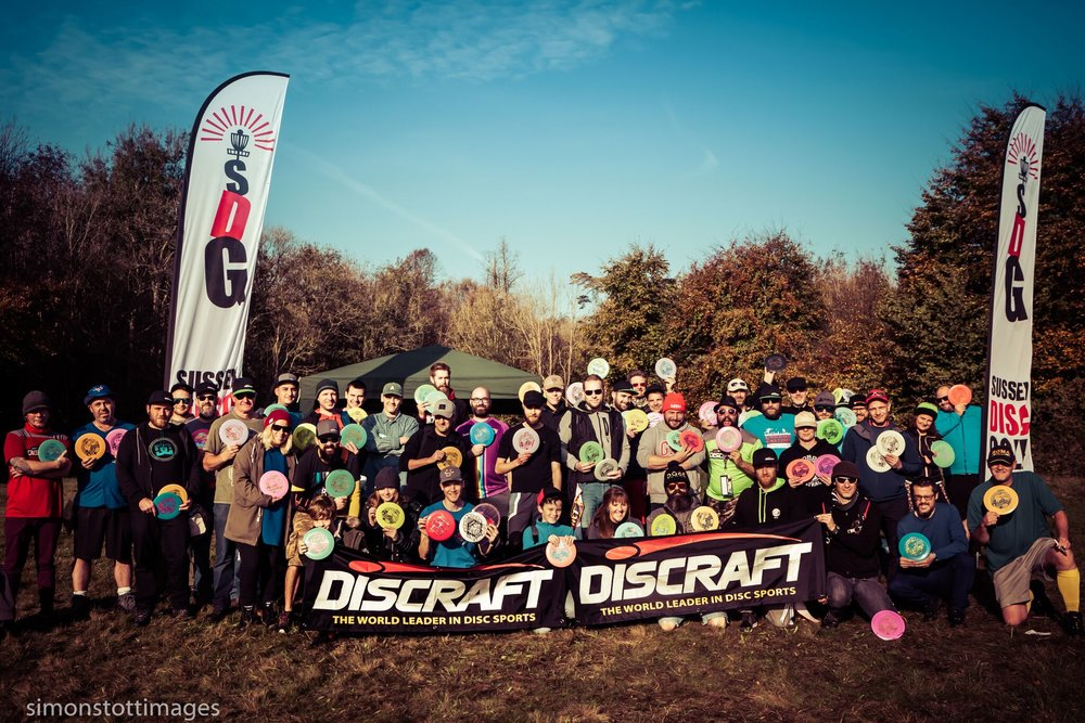 Brighton Ace Race 2018 presented by Sussex Disc Golf and London Disc Golf Community Event Gallery