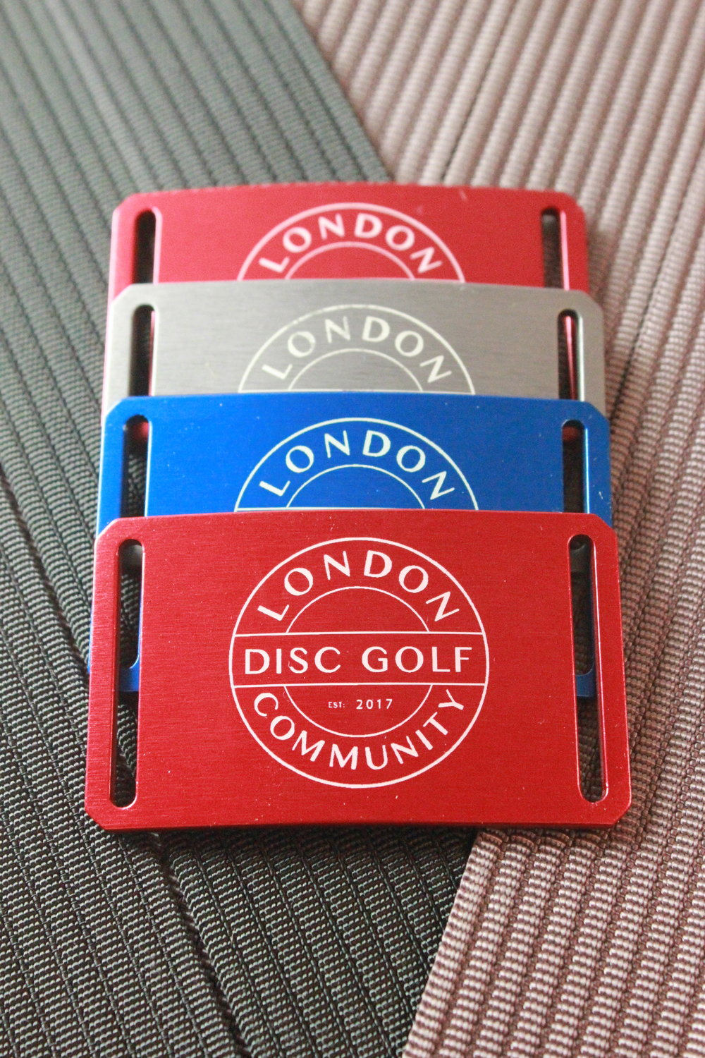 Limited Custom Grip6 Belts - London Disc Golf Community Design - £30