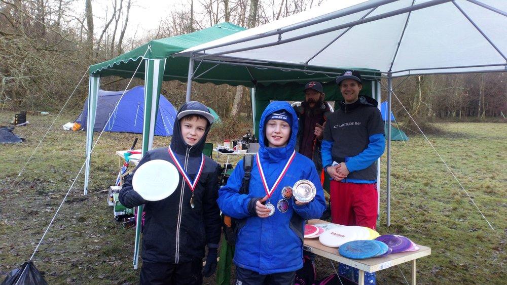 Mixed Junior Winners: Fin Landreth and Basil Noa Sieglinger