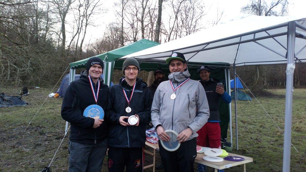 Recreational Winners: Jacek Jankowski, Michael Sharkey & Dave Landreth