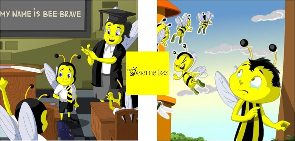 'Being Brave' and 'Being Different' from the 'BeeMates' Series