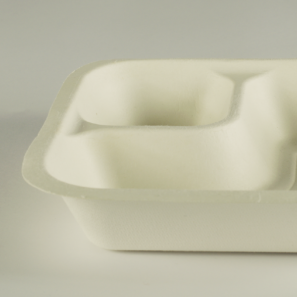 Base gourmet de bagazo con dip 18oz (550ml), línea V4.
