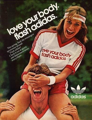 Adidas reklame fra 1982