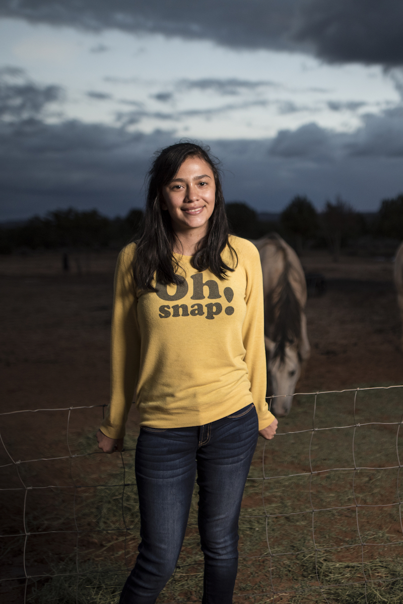 Arianne Nez lives on Navajo Mountain and needs clean water. - Watch the film.
