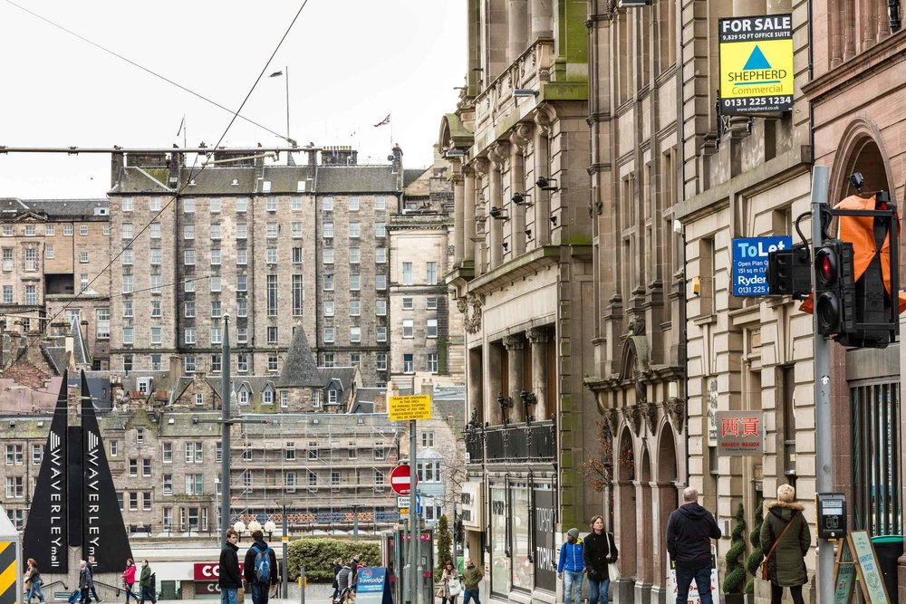 Edinburgh is after London the second most  expensive place for corporate real estate