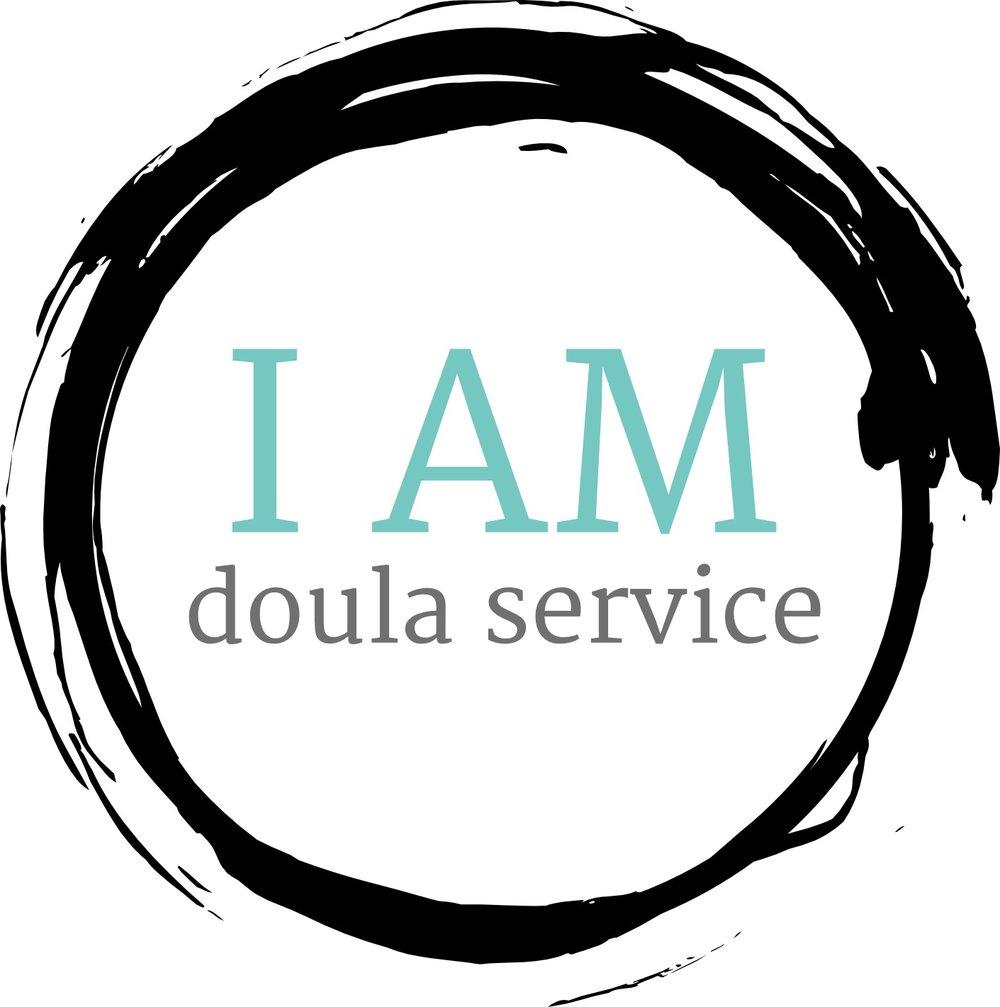 I AM doula service logo