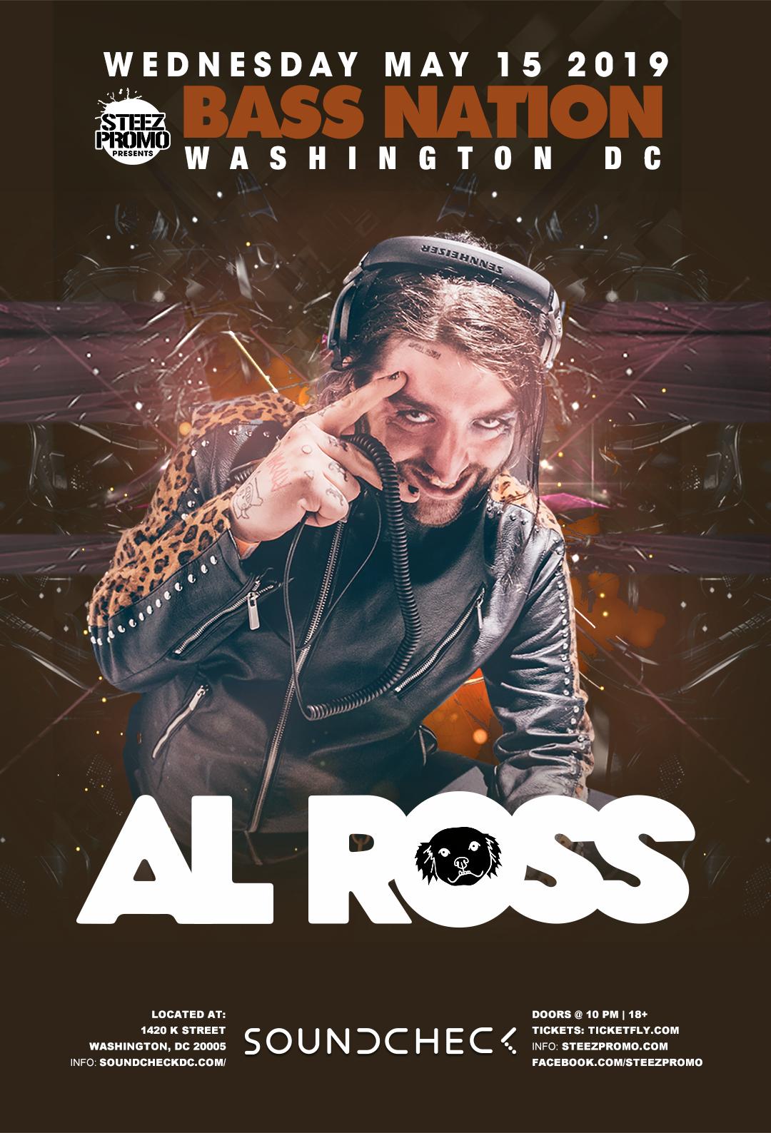 BASS NATION PRESENTS: AL ROSS — Steez Promo
