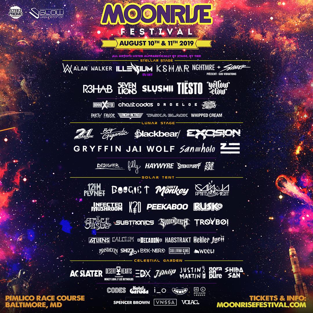 MOONRISE FESTIVAL 2019 — Steez Promo