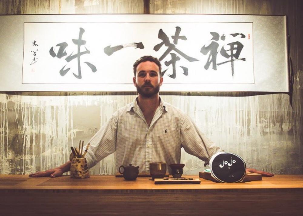 Michael Ortiz, Founder/CEO,  Jojo Tea