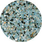 "Aqua Blue  ""Mini Pebble"""