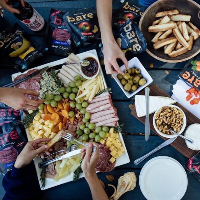 Take us back to this charcuterie board! Dreaming of those honey walnuts, jalapeño stuffed olives, dried apricots, meats, cheeses... all of it! » One thing's for sure, we did not go hungry at camp! » » » » » #whoruntheworld #girls #feminist #womeninwellness #femalepower #femaleentrepreneur #wellness #healthywomen #sfblogger #sfwellness #sfwellnessblogger #ladyboss #boss #dreambig #manifestation #highvibe #highvibeliving #campwellness2018 #campwellness #realfood #cheeseboard #charcuterie