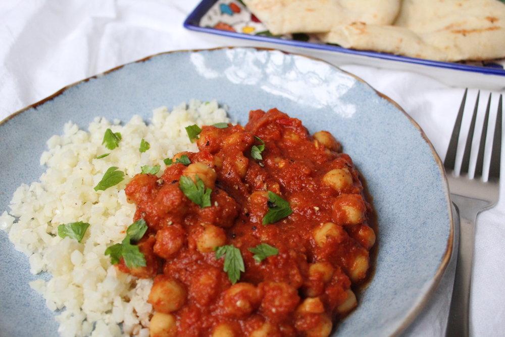 Tikka Masala with Rices Cauliflower