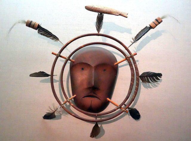 Ritual mask -