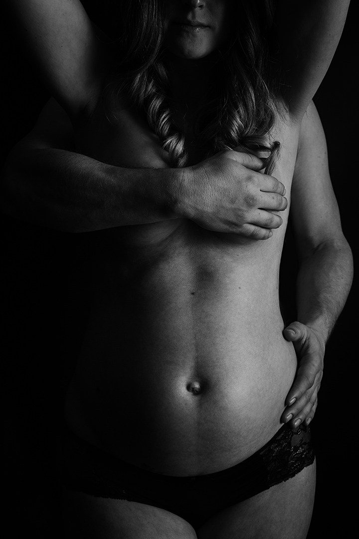 Pregnancy Painted By Light -