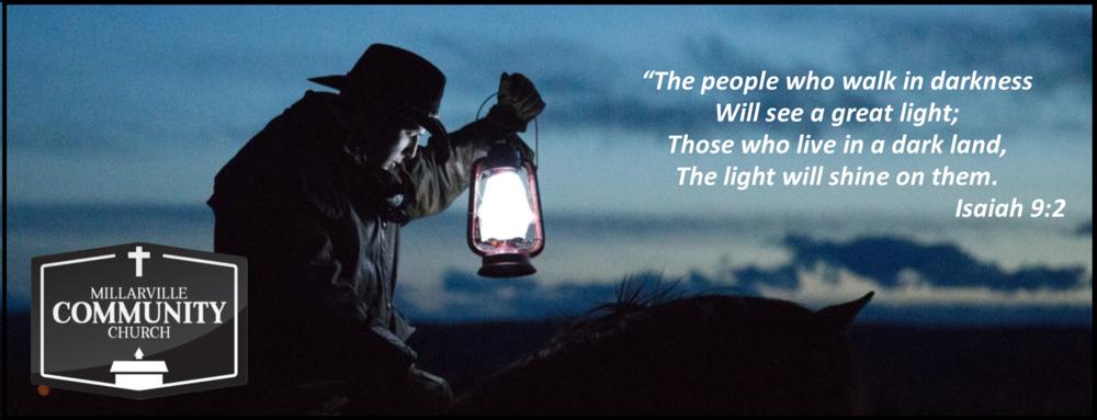 See the Light - Christmas sermon - Pastor John Wiuff | Dec 23, 2018