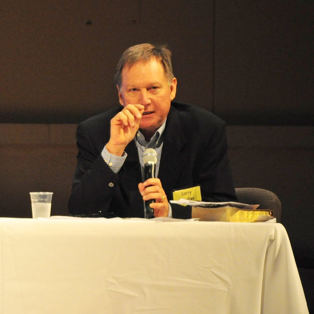 LCoulter at panel.JPG