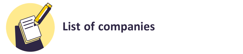 List of companies.png