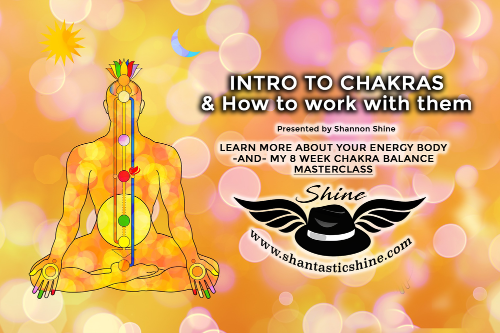 ——> Check This Out<—— - I actually did a FREE intro to chakras workshops for Shine Online airing at 3pm EST March 3rd! In this video I discuss the basic connection of chakras and why is it important to balance them. Check it out!