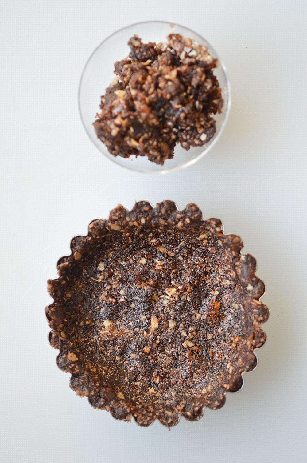Vegan tart base