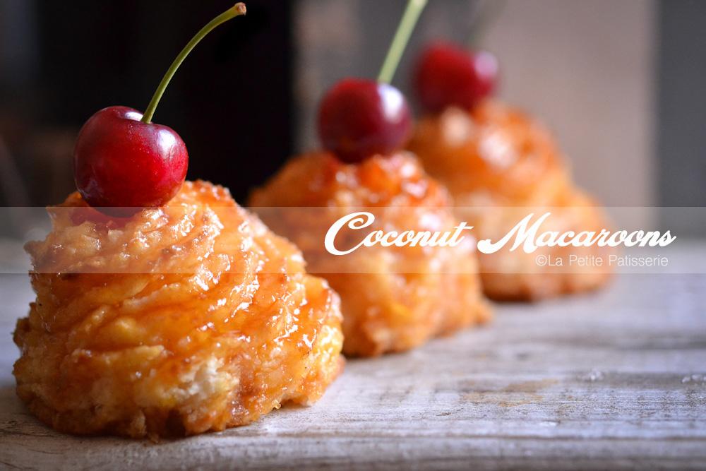 Coconut Macaroons La Petite Patisserie
