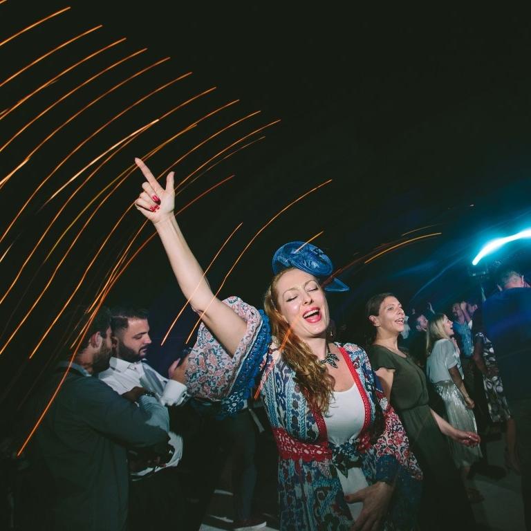 Pulmapeo külalised tantsimas