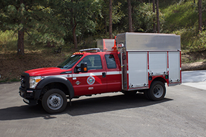 4321   Type 6 – Medical / Rescue Vehicle   500 gallon capacity 250 gpm pump rating