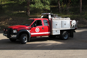 4331   Type 6 – Wildland Engine   300 gallon capacity 250 gpm pump rating
