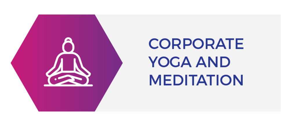 Interactive yoga and meditation sessions for various workplace settings
