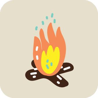Campfire-friendly